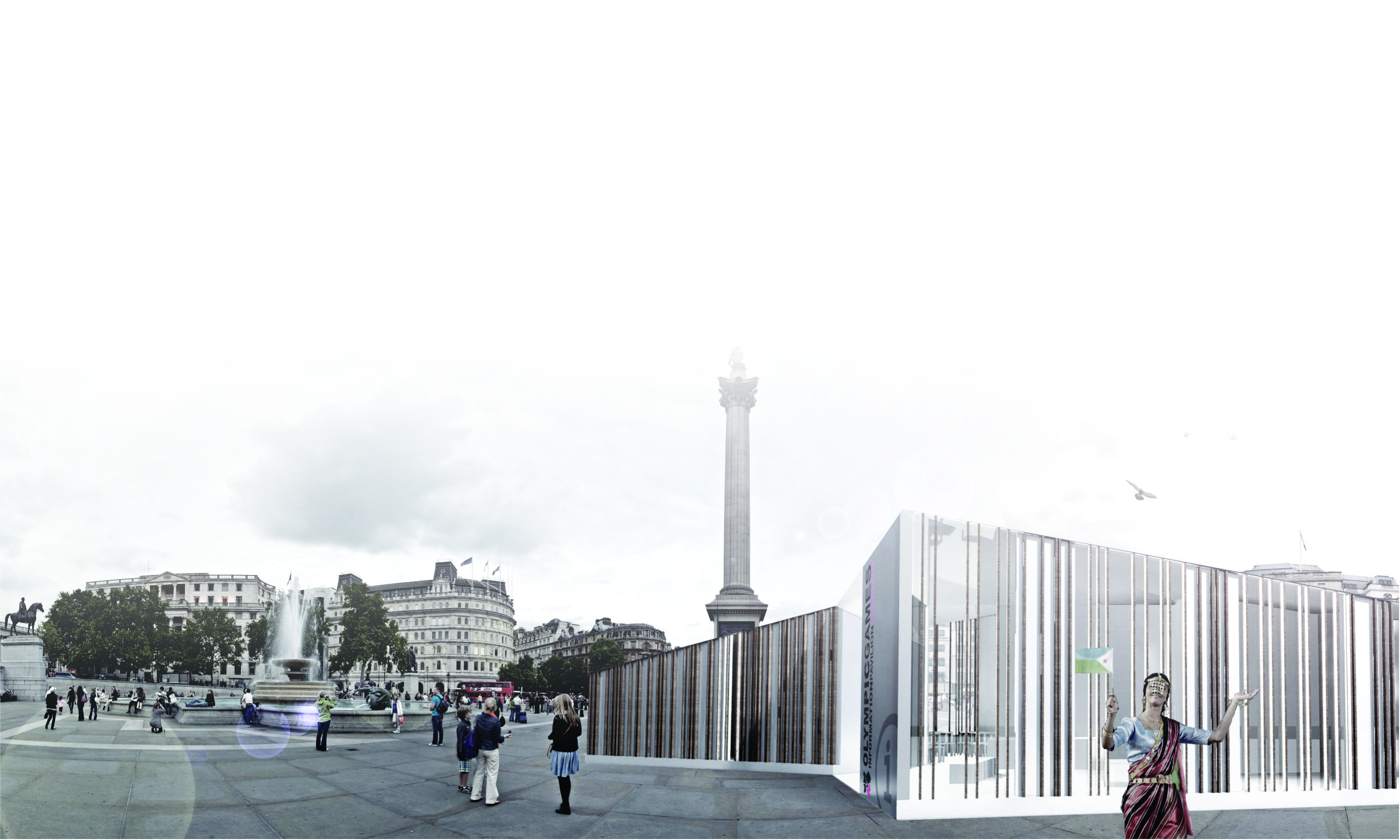 Informative Pavillion – Olympic Games, London 2012
